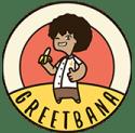 Greetbana, de beste bakkers van bananenbrood. Logo
